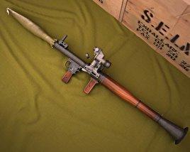 3D model of RPG-7