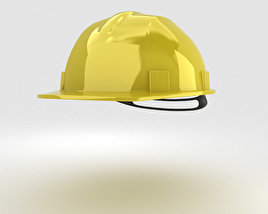 3D model of Safety Helmet