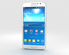 3D model of Samsung Galaxy Grand 2 White