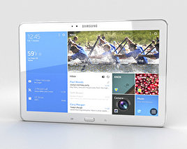 3D model of Samsung Galaxy NotePRO 12.2 inch White