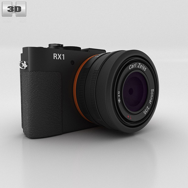 3D model of Sony Cyber-shot DSC-RX1