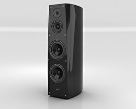 3D model of Sony SS-AR1 Speaker