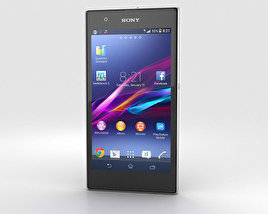 3D model of Sony Xperia Z1S