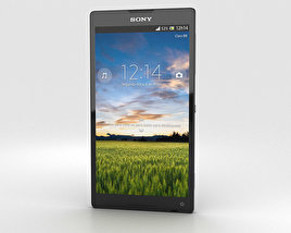3D model of Sony Xperia ZL (ZQ)