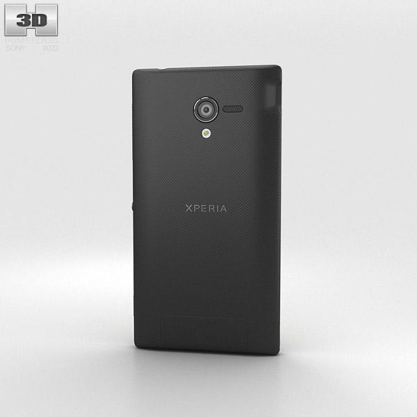 Sony Xperia ZL (ZQ) 3d model