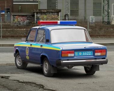 VAZ-2107 Ziguli DAI Ukraine
