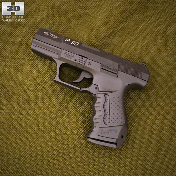 3D model of Walther P99
