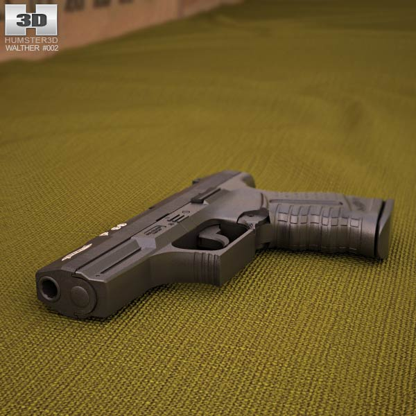 Walther P99 Modelo 3d