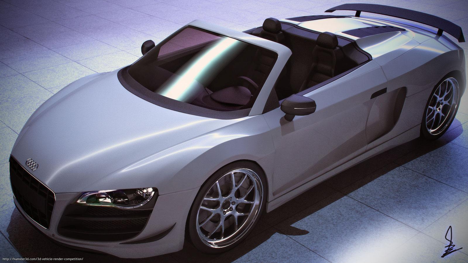 Audi R8 Render 3d art