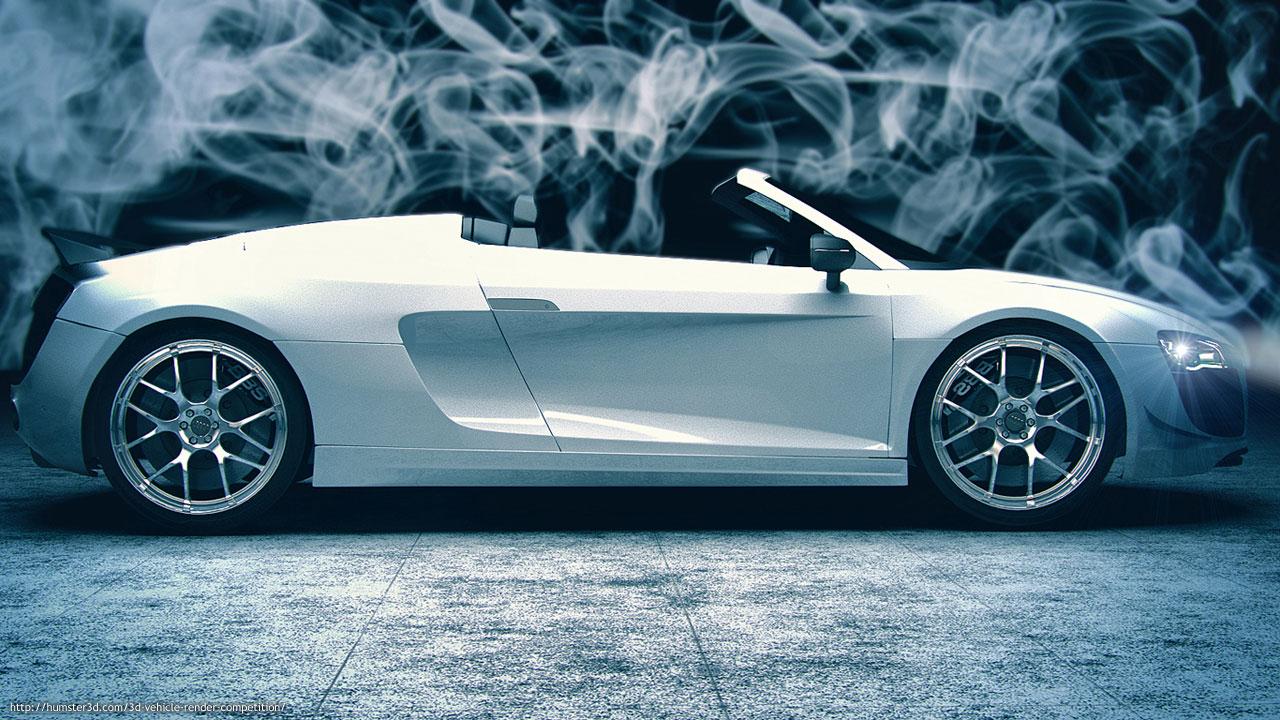 Render of Audi R8 3d art