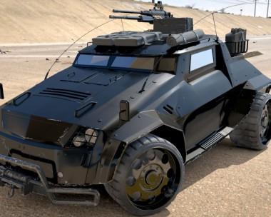 The Light Assault & Recon Vehicle (LARV)