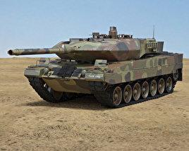 3D model of Leopard 2A6