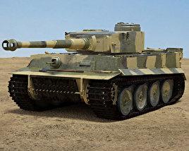 3D model of Tiger I