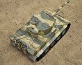 Tiger I 3d model