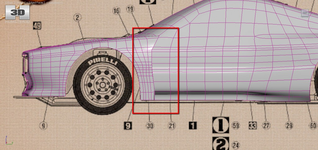 Car 3D Modeling Tutorial 3DS MAX