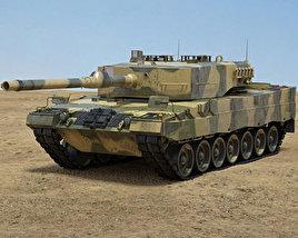 3D model of Leopard 2A4