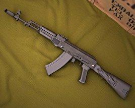 3D model of AK-74M
