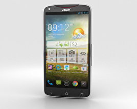3D model of Acer Liquid S2 Black