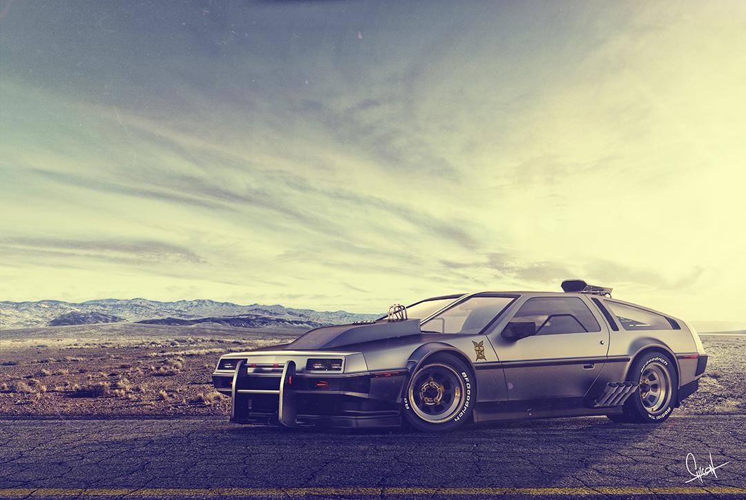 Back to the future by Rodrigo Chicon
