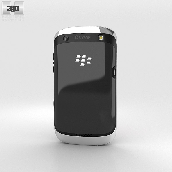 BlackBerry Curve 9360 3d model