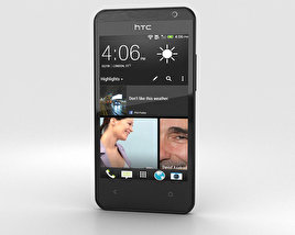 3D model of HTC Desire 300 Black