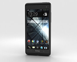 3D model of HTC Desire 600 Black