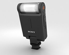 3D model of Sony HVL-F20M External Flash