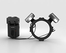 3D model of Sony HVL-MT24AM Macro Twin Flash Kit