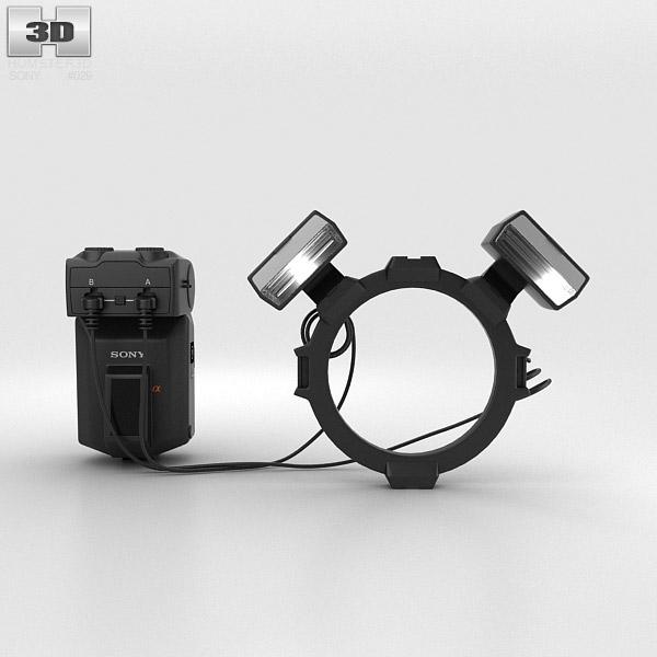 Sony HVL-MT24AM Macro Twin Flash Kit 3D model
