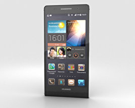 3D model of Huawei Ascend P6 S Black