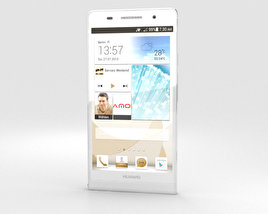 3D model of Huawei Ascend P6 S White