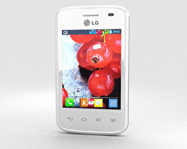 3D model of LG Optimus L1 II TRI White