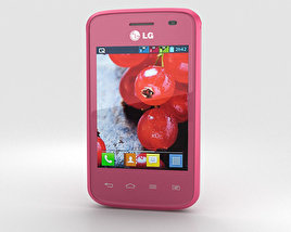 3D model of LG Optimus L1 II TRI Pink