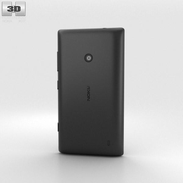 Nokia Lumia 520 Black 3d model