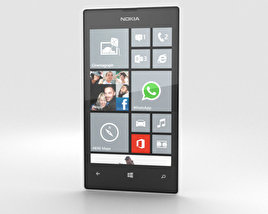 3D model of Nokia Lumia 520 White