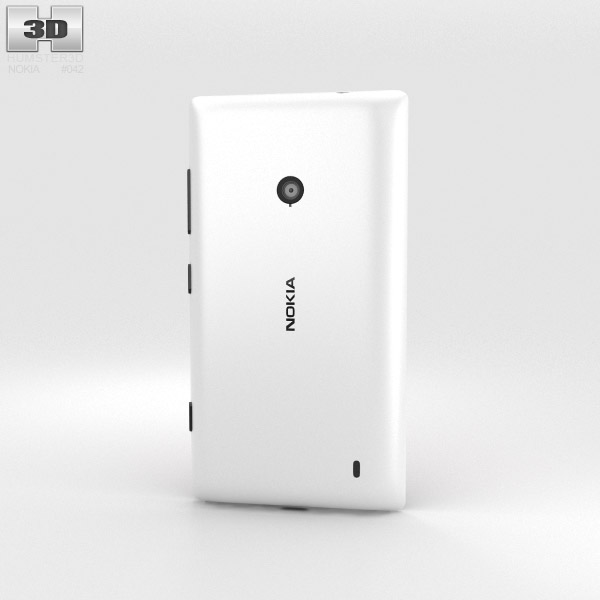Nokia Lumia 521 3d model