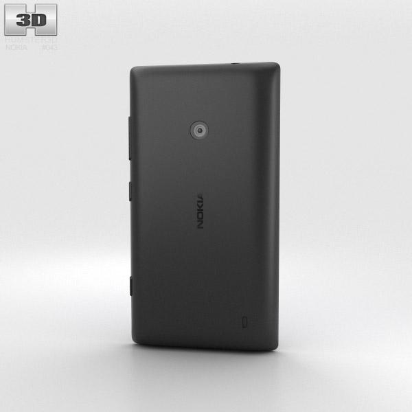 Nokia Lumia 525 Black 3d model