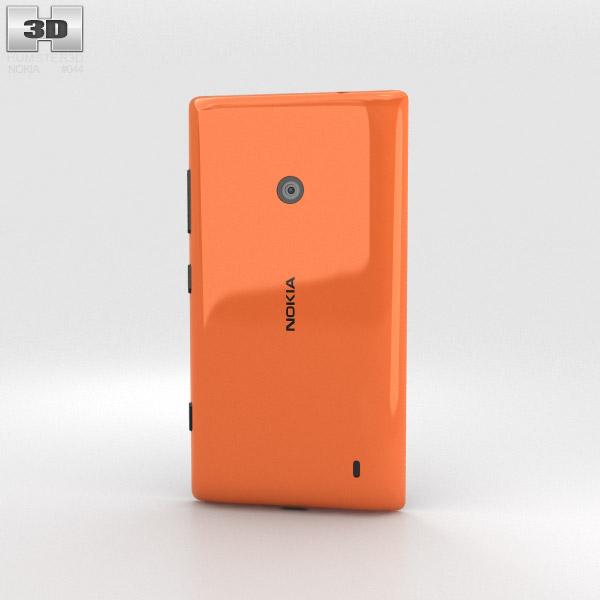 Nokia Lumia 525 Orange 3d model