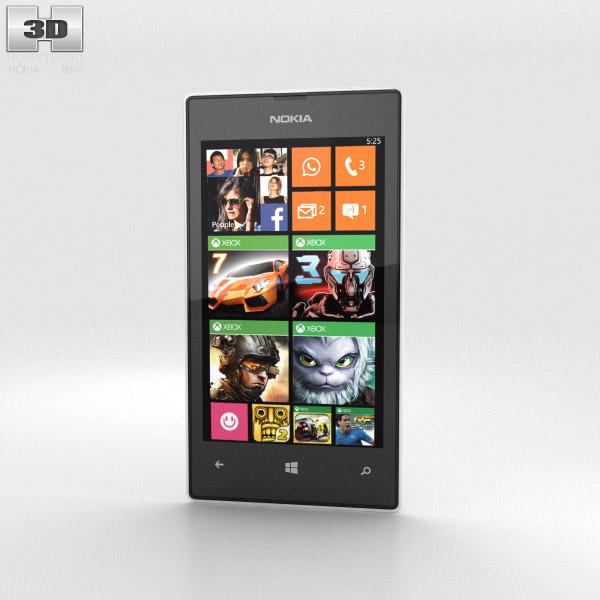Nokia Lumia 525 White 3d model
