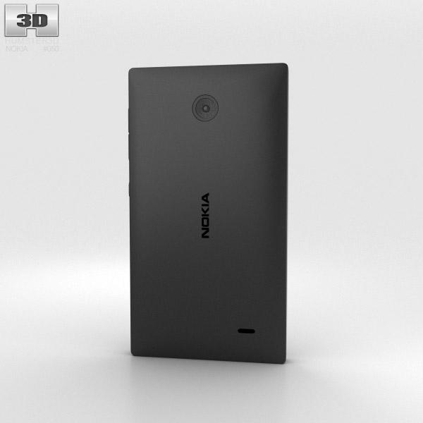 Nokia X Black 3d model