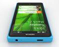 Nokia X Cyan 3d model