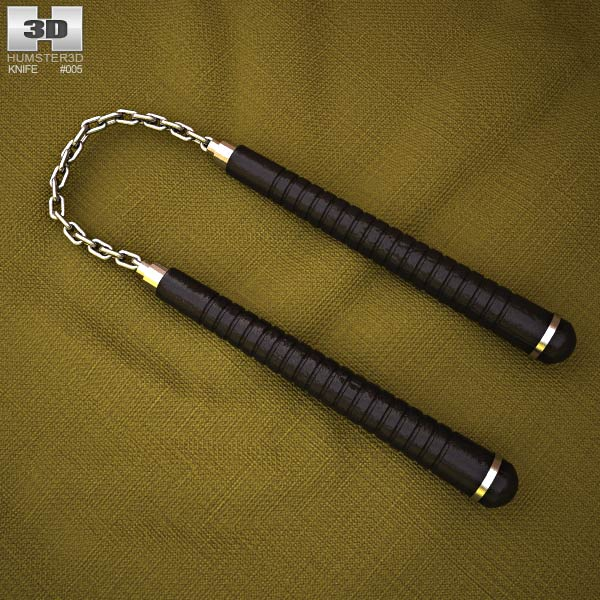 3D model of Nunchaku