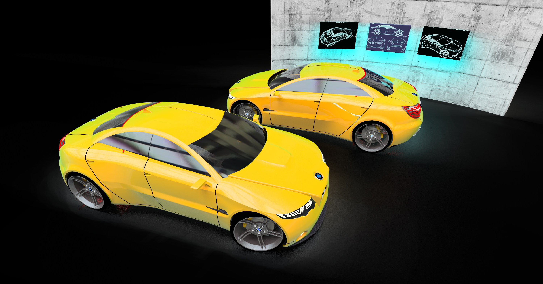 BMW M3 3d art