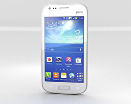 3D model of Samsung Galaxy Ace 3 White