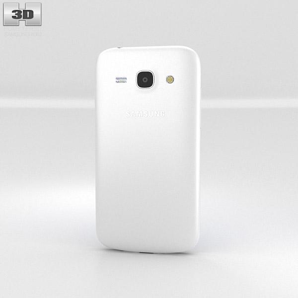 Samsung Galaxy Ace 3 White 3d model