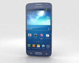 3D model of Samsung Galaxy Express 2 Blue