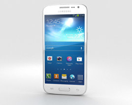 3D model of Samsung Galaxy Express 2 White