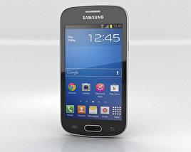 Samsung Galaxy Fresh S7390 Black 3D model