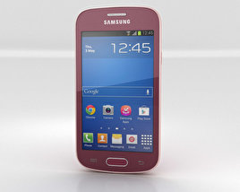 3D model of Samsung Galaxy Fresh S7390 Red
