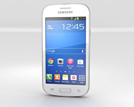 3D model of Samsung Galaxy Fresh S7390 White